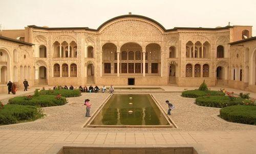 Zdjecie IRAN / brak / Kashan / dom kupca dywanów z XIX wieku
