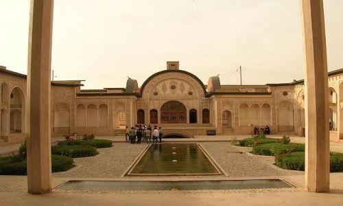 IRAN / brak / Kashan / dom kupca dywanów z XIX wieku