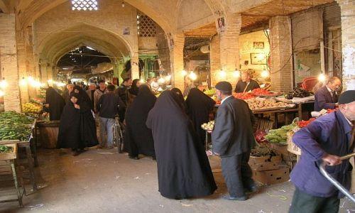 Zdjecie IRAN / brak / Zanjan / bazar