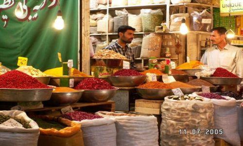 Zdjecie IRAN / brak / Esfahan / Bazar z jego bogactwem