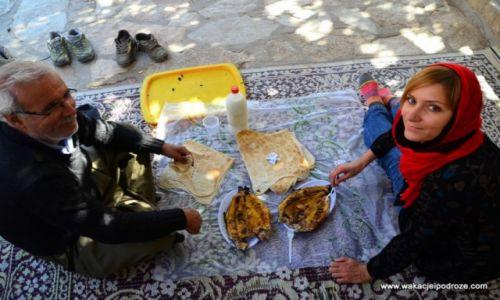 IRAN / Kurdystan / Sanandaj / Obiad w Kurdystanie