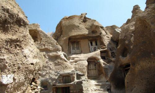Zdjecie IRAN / na pd od Tabrizu / Kandavan / Bajkowe domki