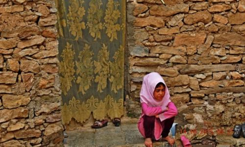 Zdjęcie IRAN / Kurdystan / Palangan / Wieś Kurdyjska