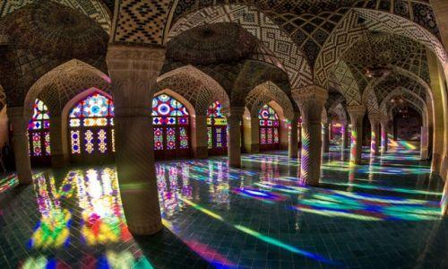 Zdjecie IRAN / Fars / Shiraz / barwy Allaha