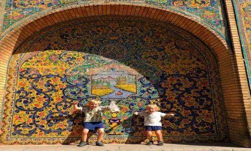 Zdjęcie IRAN / Teheran / Teheran / Pałac Golestan