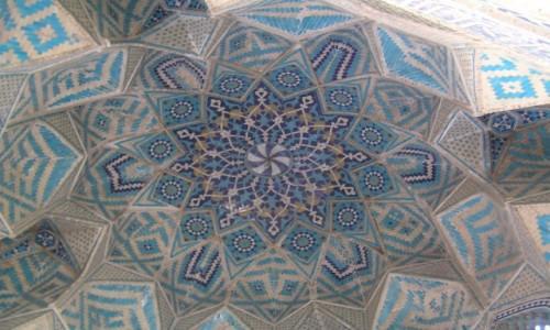 Zdjecie IRAN / Iran wschodni / Kerman / geometria