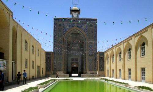 IRAN / Kerman / Meczet Pi�tkowy / 12:15