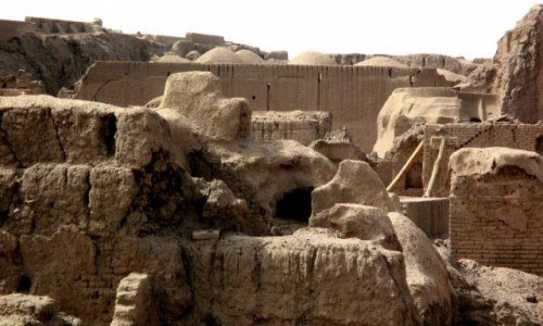 IRAN / Bam / Gliniane Miasto / Z gliny powstałeś....4