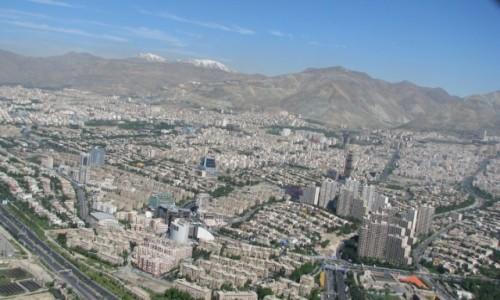 Zdjęcie IRAN / - / Teheran / Teheran, widok z Milad Tower, 435 m