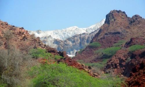 Zdjecie IRAN / Wyspa Hormoz / Rainbow Valley / Kontrasty1