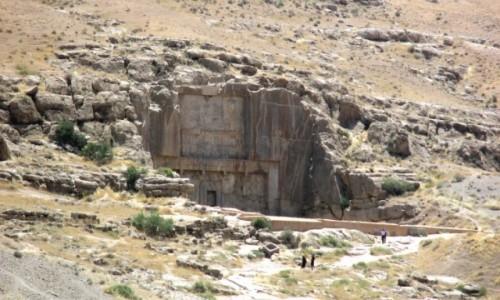 Zdjęcie IRAN / Shiraz / Tacht-e dżamszid (Parsa) / Grobowiec Artakserksesa III