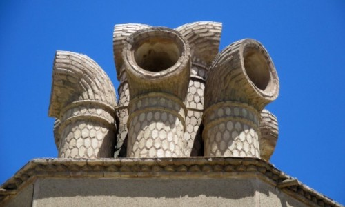 IRAN / Sirjan / Stare miasto / Badgiry