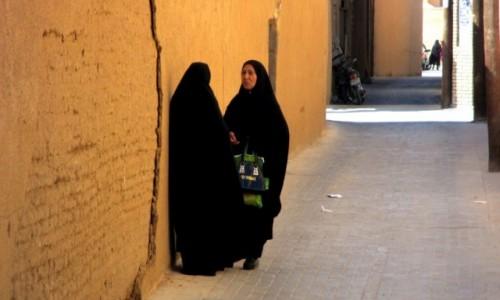 IRAN / Yazd / Stare miasto / Ploteczki