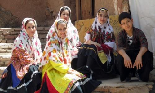 Zdjęcie IRAN / Kashan / Wieś Abyaneh / Sam wdzięk