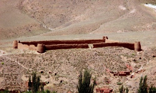 IRAN / Kashan / Wie� Abyaneh / Ostatni bastion