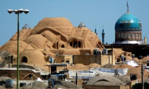 IRAN / Kashan / Stare miasto-bazar / Jak nie z tej  Ziemi