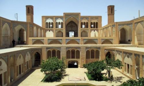 Zdjęcie IRAN / Kashan / Meczet Aqa Bozorg / Medresa