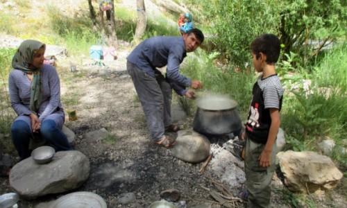Zdjęcie IRAN / Okolice wsi Polour / Zakole rzeki Haraz / Jeszcze?