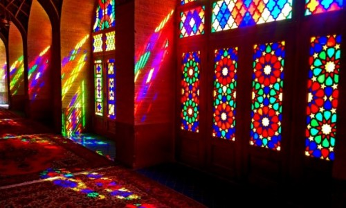 Zdjecie IRAN / Shiraz / Nasir al-Molk / Kolor