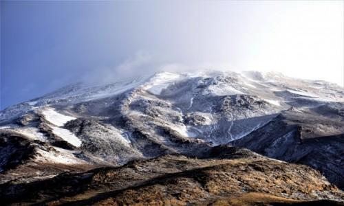 Zdjecie IRAN / Góry Elbrus / biwak na południowym stoku / Demawend