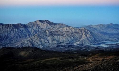 Zdjecie IRAN / Góry Elburs / Demawend / Demawend przed świtem