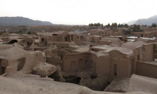 Zdjęcie IRAN / - / Okolice Jazd / Kharanaq - stara opuszczona wioska