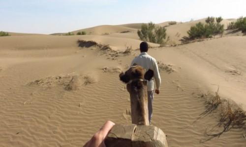 IRAN / - / Farahzad - centrum kraju / Jazda na wielbłądzie