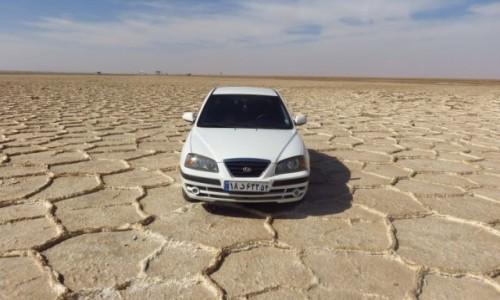 Zdjecie IRAN / - / Pustynia Dasht-e Kavir / Słone jezioro (wyschnięte)