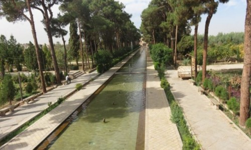 Zdjęcie IRAN / - / Jazd / Ogród Dowlat Abad