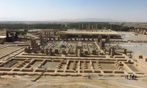 Zdjecie IRAN / - / Persepolis / Persepolis - ruiny starożytnego perskiego miasta