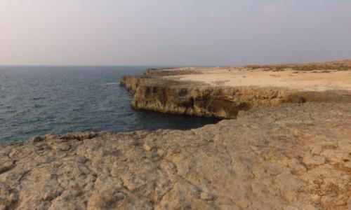 Zdjecie IRAN / - / Zatoka Nayband należąca do Zatoki Perskiej / Skaliste wybrzeże nad Zatoką Perską