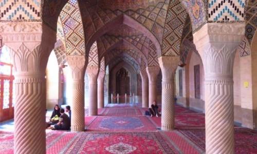 Zdjęcie IRAN / - / Sziraz / Meczet Nasir al-Mulk