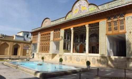 Zdjecie IRAN / - / Sziraz / Naranjestan-e Ghavam Pawilon