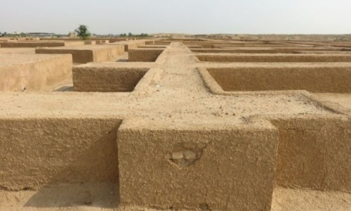 Zdjecie IRAN / - / Suza / Ruiny pałacu Dariusza