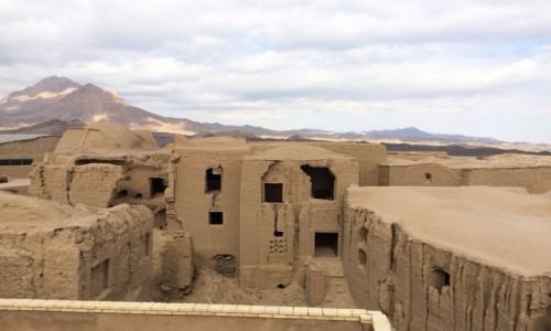 Zdjecie IRAN / Yazd / Kharanagh / Opuszczone miasto