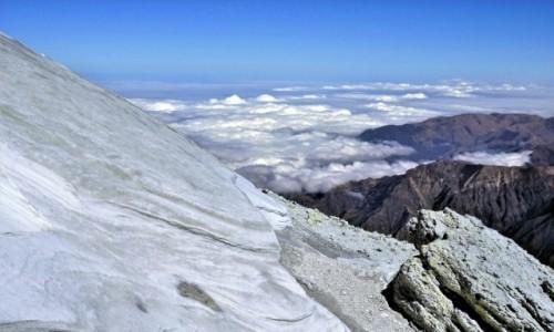 Zdjecie IRAN / Góry Elburs / Demawend, kopuła szczytowa / Siarkowe pola na Demawend