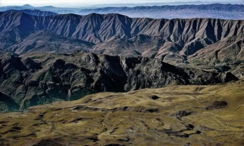 Zdjecie IRAN / Góry Elburs / Demawend / Panorama z kopuły szczytowej