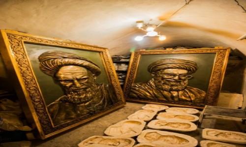 Zdjecie IRAN / Azerbejdżan Wschodni / Tabriz / W piwnicy u pewnego pana artysty