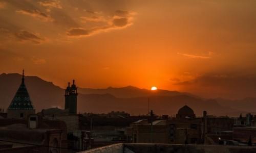 Zdjecie IRAN / Isfahan / Kaszan / Z dachu najlepiej