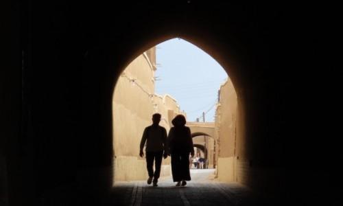 Zdjecie IRAN / - / Jazd / Turyści ?