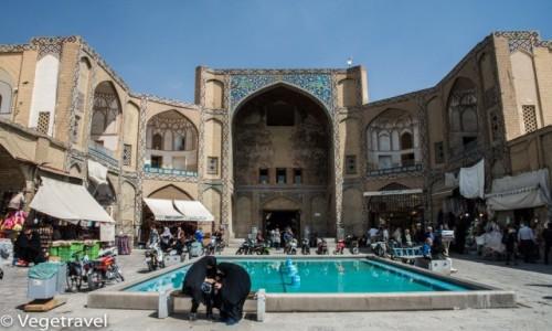 Zdjecie IRAN / Isfahan / Isfahan / Meczet w Isfahanie