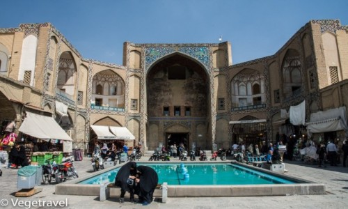 Zdjęcie IRAN / Isfahan / Isfahan / Meczet w Isfahanie