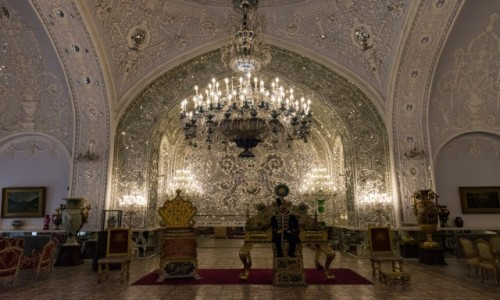 Zdjecie IRAN / Teheran / Pałac Golestan / Pałac Golestan - Teheran