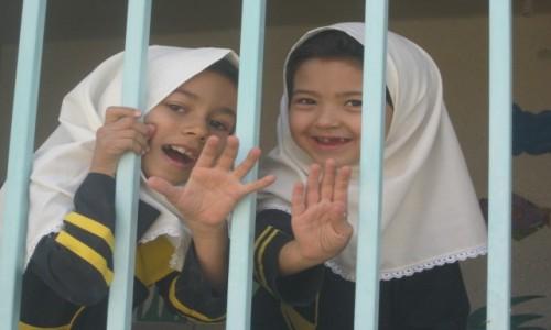 Zdjęcie IRAN / Iran / Iran / Szkoła za kratami