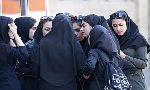 Zdjęcie IRAN / płn Iran / Kāshān / W krainie czadorów...