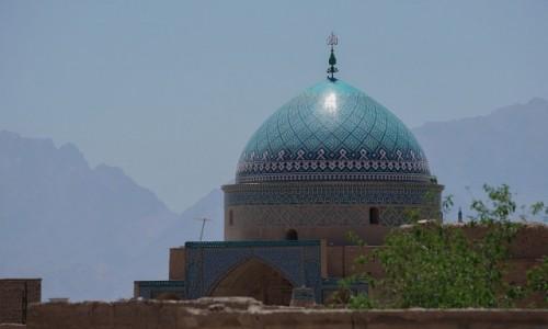 Zdjecie IRAN / Yazd / Yazd / Błękitne kopuły Yazd