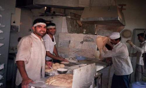 Zdjecie IRAN / Teheran / Teheran / Irańska piekarnia
