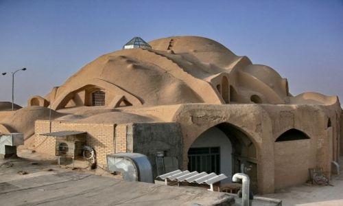 Zdjęcie IRAN / Obrzeża pustyni Dasht-e Kavir / Kashan / Prawie jak na Arrakis