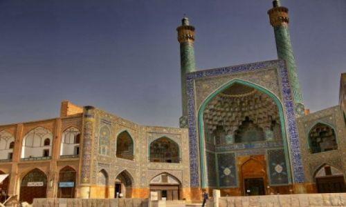 Zdjęcie IRAN / Esfahan - połowa świata... / Meczet Imama na Placu Imama / Meczet Imama