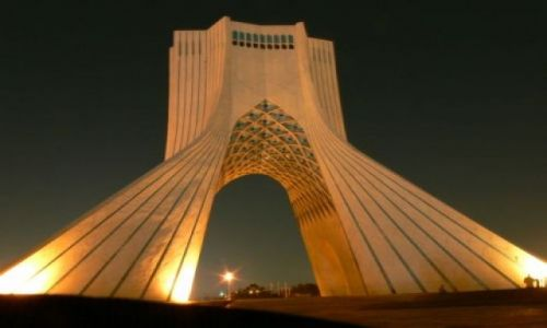 IRAN / Teheran / Pomnik Wolności / Azadi Monument